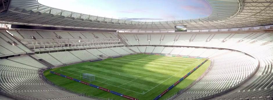 Resultado de imagem para estádio Castelão Fortaleza